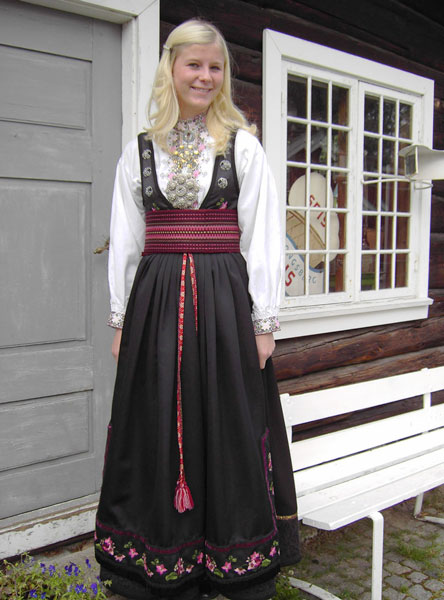 Women's costume of East Telemark, Norway
